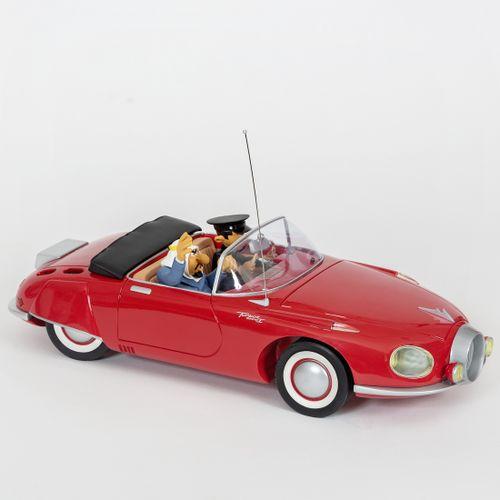 Franquin : FIGURES & VOUS : Spirou, le garage de Franquin, la Turbot Rhino 1 rou…