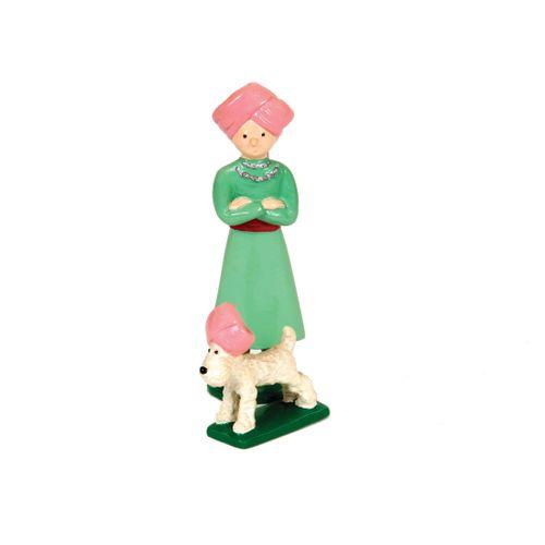 Hergé : PIXI : Tintin, 4523, avec Milou en turban, Les Cigares du pharaon, 1990,…