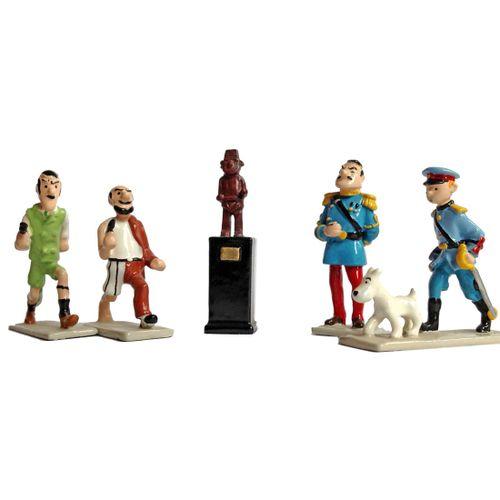 Hergé : PIXI : Tintin, 2139, mini série, L'Oreille cassée, 1996, 1700 ex., 3 cm,…