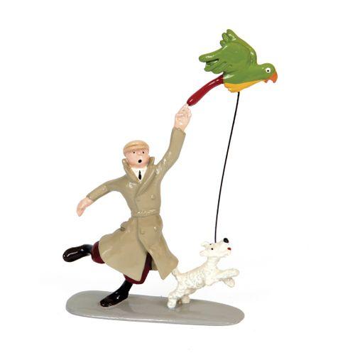 Hergé : PIXI : Tintin, 4533, Tintin et Milou perroquet, L'Oreille cassée, 1990, …