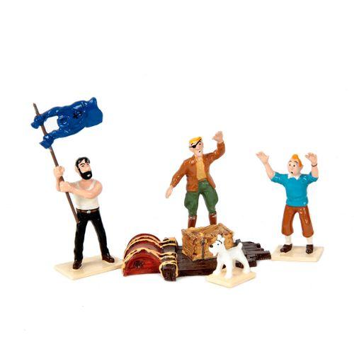 Hergé : MOULINSART PLOMB : Tintin mini série, 46917, Coke en stock, 1999, n°/200…