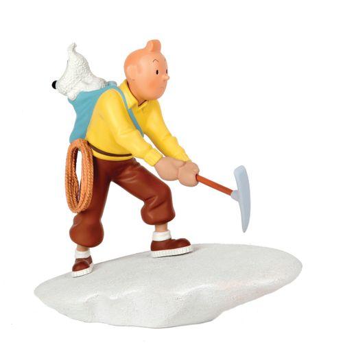 Hergé : MOULINSART LEBLON : Tintin, 45932, l'escalade avec Milou, 2003, n°/1500,…