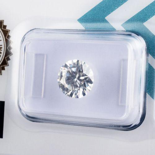Diamant de 2,06 ct., pureté parfaite IF (Internally Flawless), couleur H, taille…