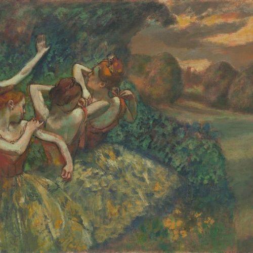 Edgar DEGAS (1834 1917) Danseuse, vers 1896 1899 Pastel, signé en bas à droite. …