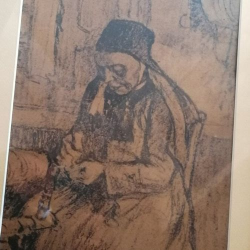 """Jules ADLER """"les bretonnes"""" 2 reproductions sur papier brun"""