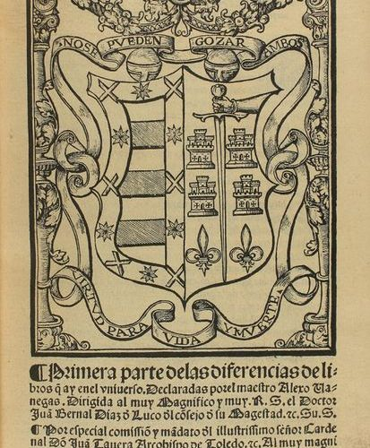 1540 . BOOK: (GOTHIC ). VANEGAS, ALEXO [OF BUST]: FIRST PART OF THE DIFFERENCES …