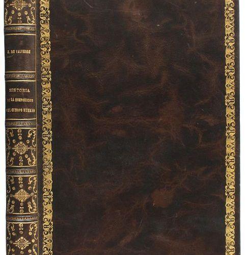 1556 . BOOK: (SCIENCE MEDICINE ). VALVERDE DE HAMUSCO, JUAN: HISTORY OF THE COMP…