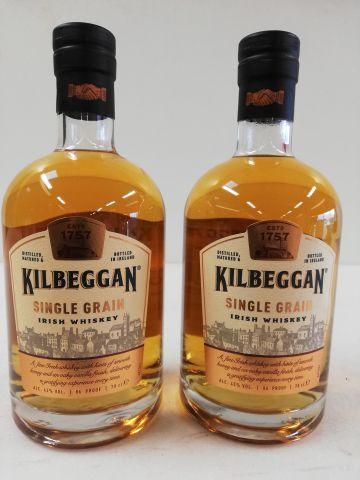 2 bottles of Kilbeggan Pure Grain Whiskey. Limited Edition Ireland. Irish whiske…