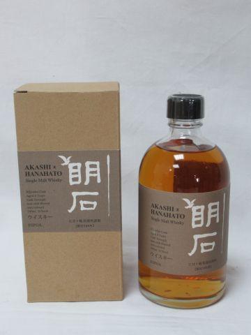 Whisky Single Malt Akashi Hanahato 4 years old