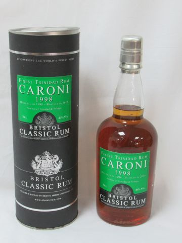 Rum Caroni 1998 (bottled 2015). In its box.