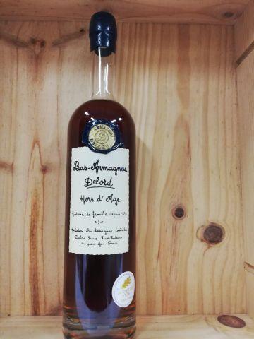 Bottle Bas Armagnac Hors d'Age Delord. Gold medal. 70CL. 40% vol.