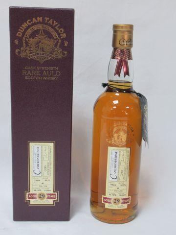 Single Grain Whisky Cameronbridge Distillery 1979 (29 years old, bottled 2008). …