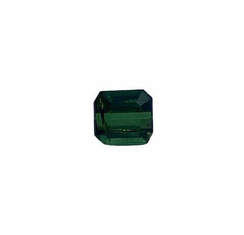 Pretty emerald cut tourmaline of about 2.12 carats.