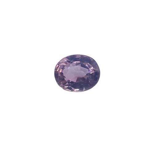 Very pretty faceted oval tourmaline of about 1.35 carats.  Probably unheated.