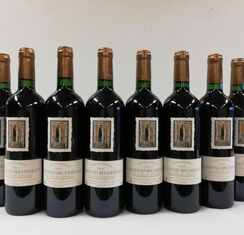 12 bottles of Château Bechereau. Lalande de Pomerol. 2013. Great Wine Lalande. S…
