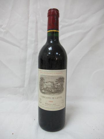 "Bottle of Pauillac, ""Carruades de Lafite"", 1993"