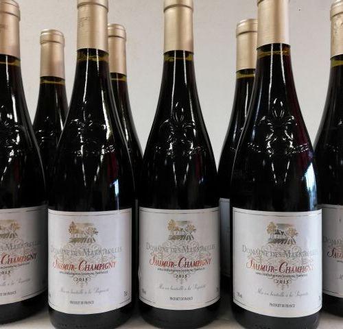 9 bottles Domaine des Marigrolles 2015. Saumur Champigny. Domaine Jordi