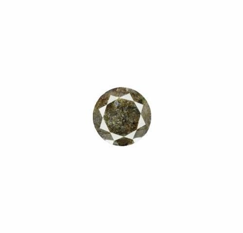 Black diamond of 3.54 carats under seal accompanied by its IGR certificate attes…