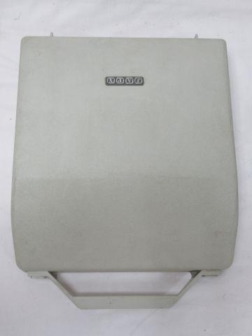 JAPY Resin typewriter. Circa 1960. Length: 29 cm