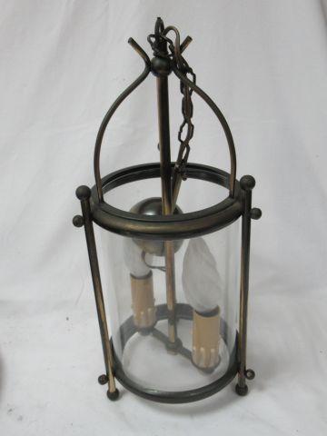 Brass lantern. 40 cm
