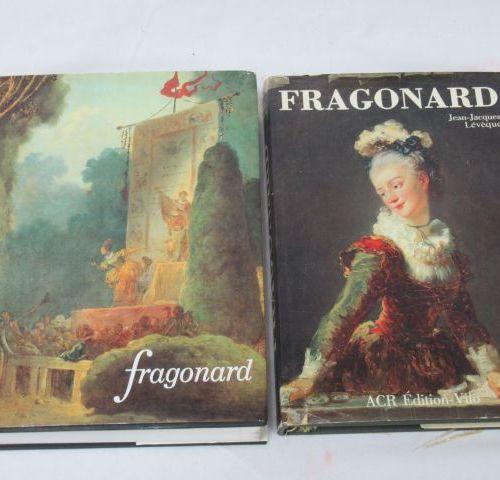 Lot de deux livres sur Fragonard. Si vous ne pouvez pas vous déplacer, nous prop…