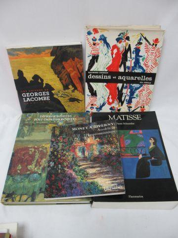 Lot de livres d'Art : Lacombe, Matisse, Impressionistes, Monet Si vous ne pouvez…