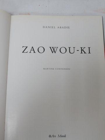 Lot de 2 livres sur Zao WOU KI. Si vous ne pouvez pas vous déplacer, nous propos…