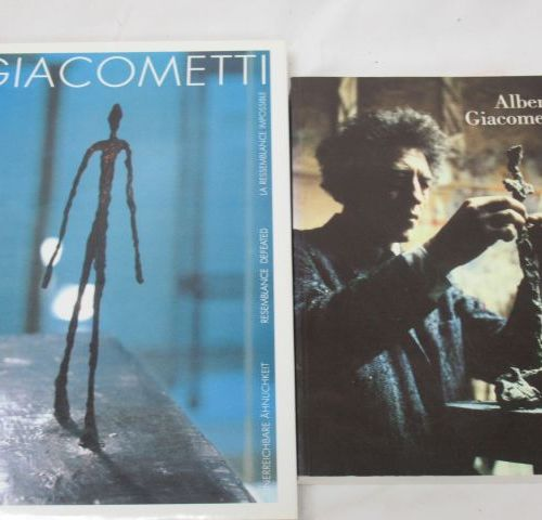 Lot de deux livres sur GIACOMETTI. Si vous ne pouvez pas vous déplacer, nous pro…