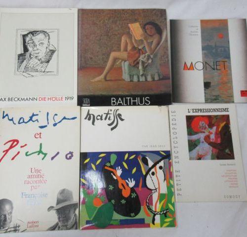 """Lot de livres d'art comprenant """"La petite encyclopédie de l'expressionnisme. """"Mo…"""