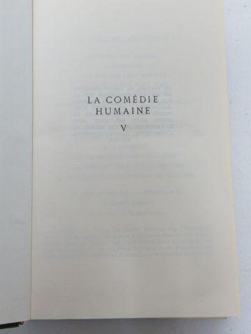 """LA PLEIADE, Balzac, """"La Comédie humaine"""", tome 5. 1966. Si vous ne pouvez pas vo…"""