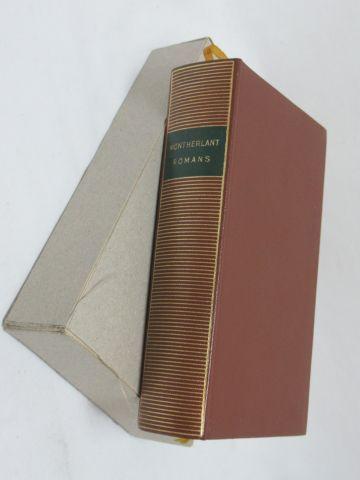 """LA PLEIADE, Montherland, """"Romans"""" 1959 (avec un nom écrit sur la 4e de couvertur…"""