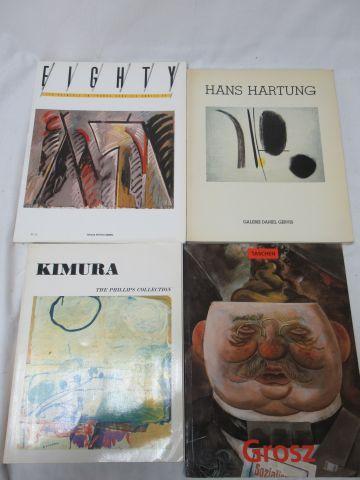 """Lot de livres d'art comprenant """"Hans Hartung"""" """"Kimura""""… Si vous ne pouvez pas vo…"""