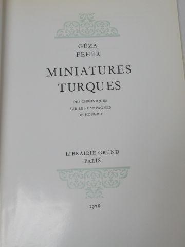 """Geza Feher """"Miniatures turques"""" Gründt 1978 Si vous ne pouvez pas vous déplacer,…"""