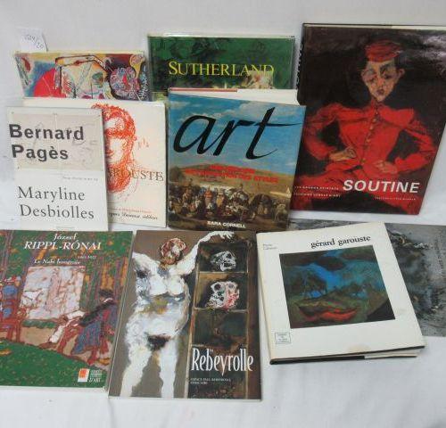 Lot de livres d'Art : Soutine, Kandinsky, Garrouste, … Si vous ne pouvez pas vou…