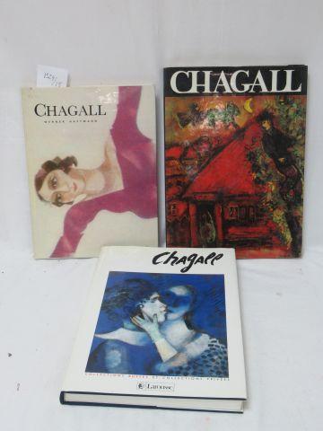 Lot de 3 livres sur Marc Chagall Si vous ne pouvez pas vous déplacer, nous propo…