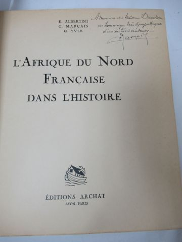 """ALBERTINI, MARCAIS and YVERT """"French North Africa in History"""". Illustrated after…"""