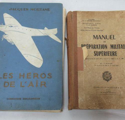 """Jacques MORTANE """"Les Héros de l'Air"""" Delagrave, 1930 (wear to the binding) The """"…"""