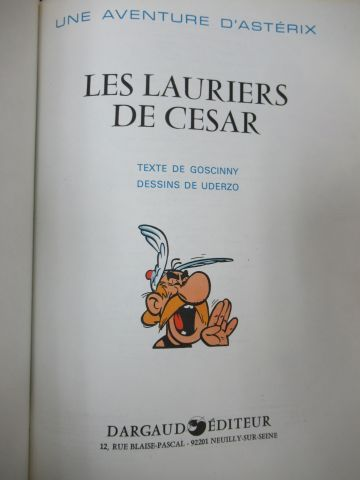 Lot of comics : Boule et Bill, Asterix ... Around 1980 2000.