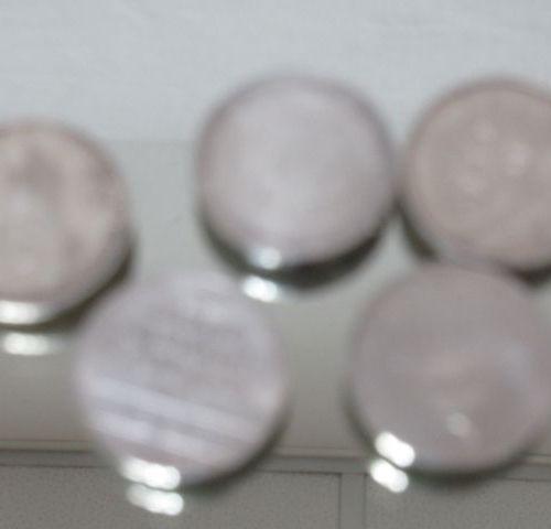 Lot de 5 pièces en argent 100 frc: le Panthéon (1982), Charlemagne (1990), Jean …