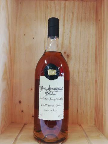 Pot (150cl) Fine Armagnac Delord. Vignerons depuis 1893. 40% vol