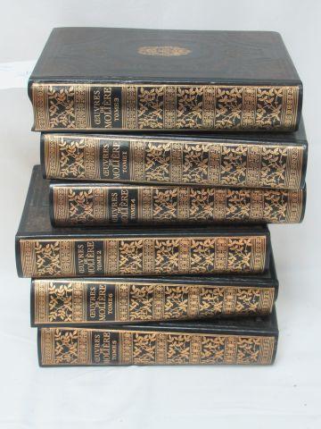 """Jean de BONNNOT, MOLIERE, """"Œuvres"""" 6 tomes, 1984"""