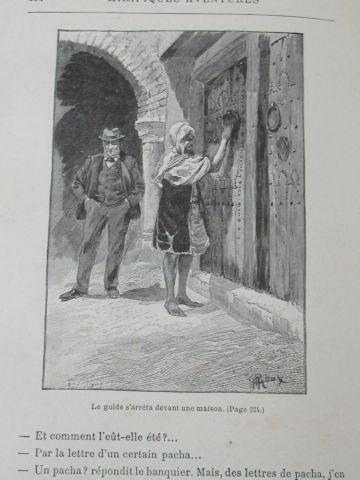 """Jules VERNE """"Mirifiques Aventure de Maître Antifer"""" Hetzel (acc)"""