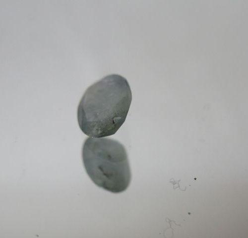 Saphir bleu clair. Poids : 1,05 carats. Avec son certificat.