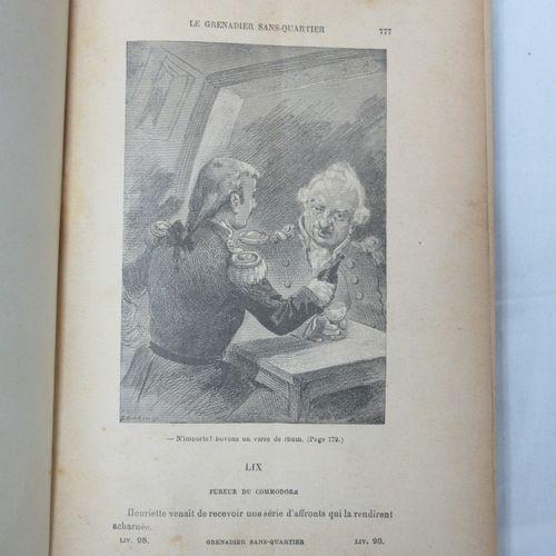 """NOIR """"Le Grenadier sans quartier"""" tomes 1 et 2."""