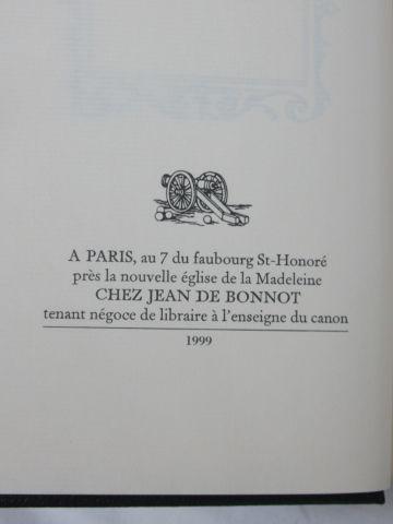 """Jean de BONNOT, Joachim du BELLAY """"Poésie"""", 1999 (légères traces d'humidité sur …"""
