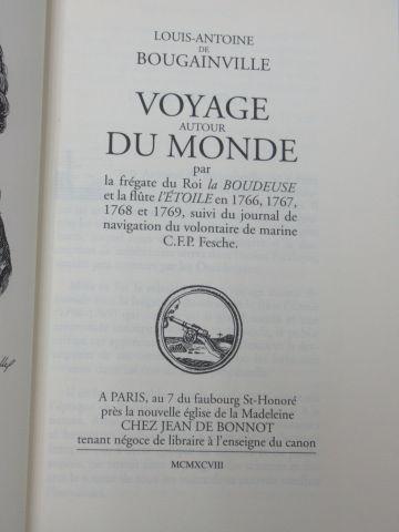 """Jean de BONNOT, Louis Antoine de BOUGAINVILLE """"Voyage autour du monde"""" 1998 (tac…"""