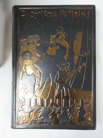 """Jean de BONNOT, BALZAC """"La Comédie humaine"""" 28 volumes. 1987."""
