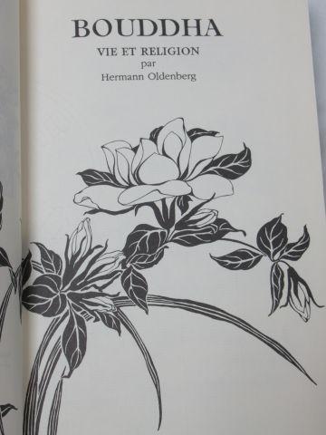 """Jean BONNOT, Hermann Oldenberg """"Bouddha : vie et religion"""" 1998"""