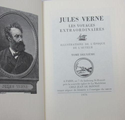 """Jean de BONNOT, VERNE """"L""""Ile mystérieuse"""" 2 volumes, 1976"""