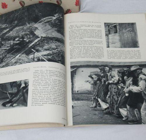 Plaisir de France, lot comprenant deux magazines de novembre et octobre 1952, un…